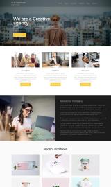 پیش نمایش موبایل قالب وردپرس Ace Corporate