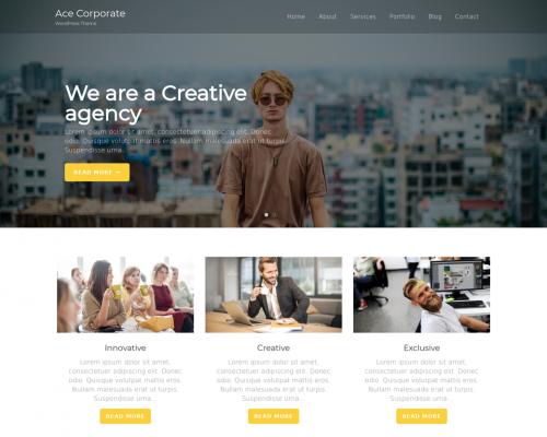دانلود رایگان قالب وردپرس Ace Corporate