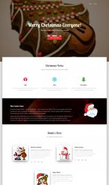 پیش نمایش موبایل قالب وردپرس Christmas Hestia