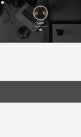 پیش نمایش موبایل قالب وردپرس Latte