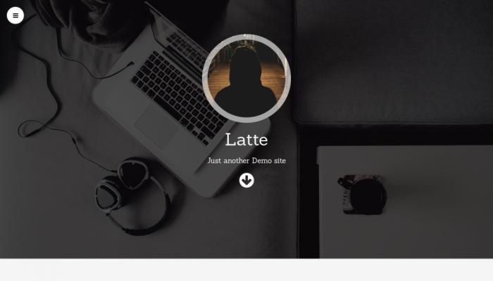 پیش نمایش دسکتاپ قالب وردپرس Latte