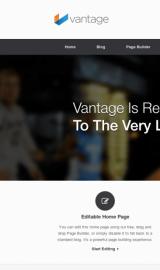 پیش نمایش موبایل قالب وردپرس Vantage