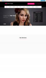 پیش نمایش موبایل قالب وردپرس SKT Cutnstyle Lite