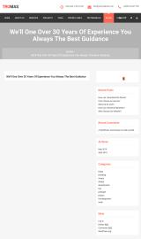 پیش نمایش موبایل قالب وردپرس Tromas