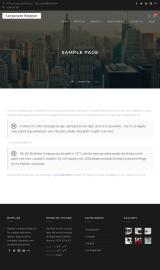 پیش نمایش موبایل قالب وردپرس Corporate Bizplan