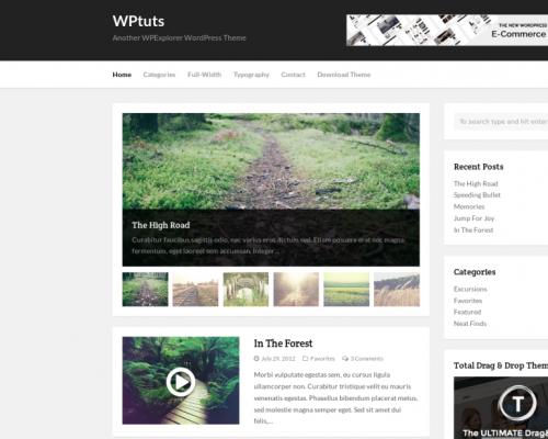 دانلود رایگان قالب وردپرس WPTuts